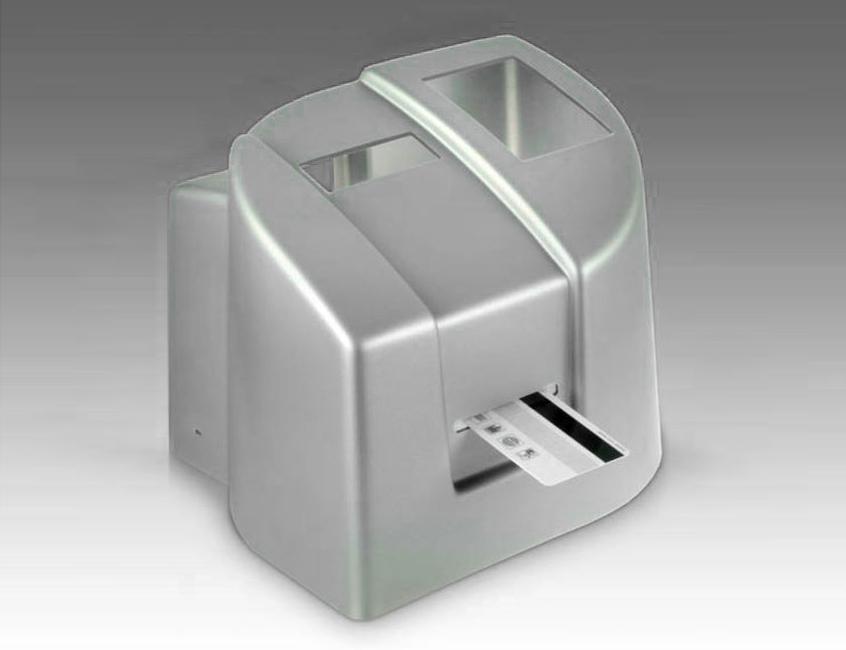 TZ2-Diese-Haube-eines-Lesegeraetes-ist-tiefgezogen-aus-eingefaerbtem-Polystyrol.-Design-Farbe-und-Funktion-in-einem-Zug.