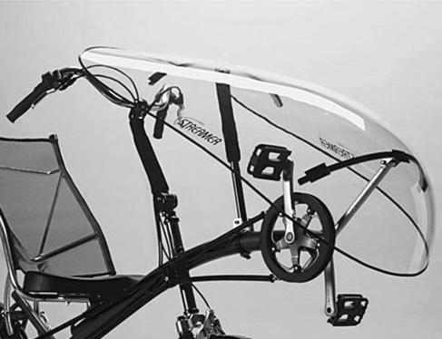 TZ5-STREAMER-Windschutzscheibe-fuer-Liegendfahrraeder-tiefgezogen-aus-PETG-2mm