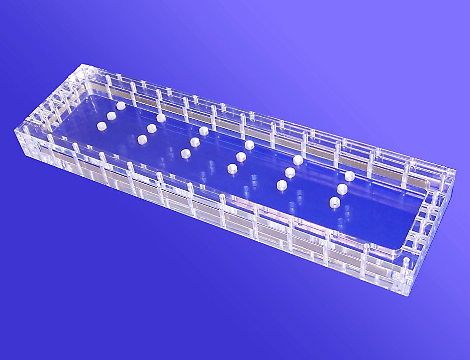 Filterhalter aus Acrylglas